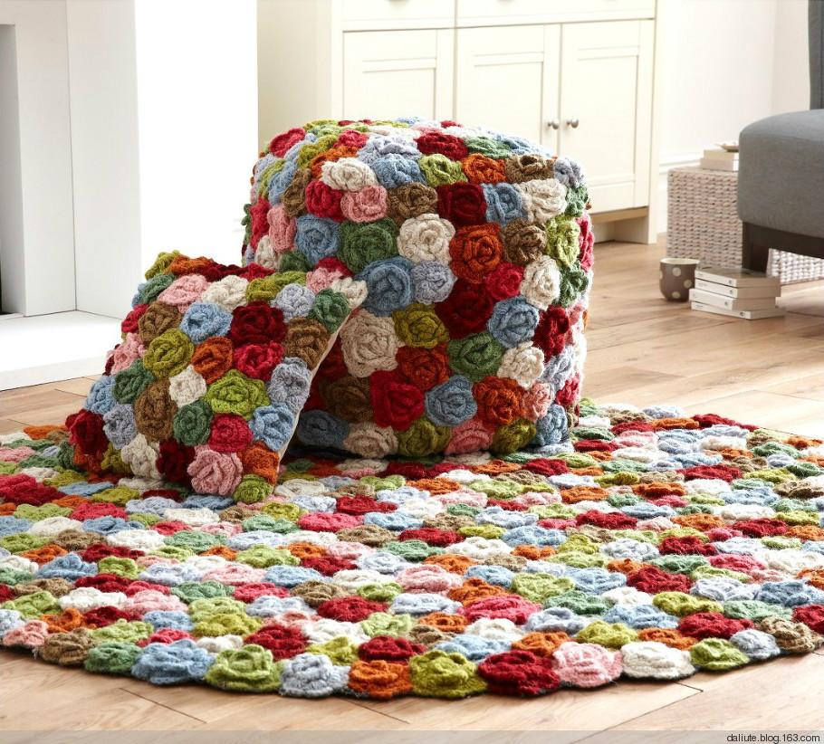 Уютный коврик своими руками для дома