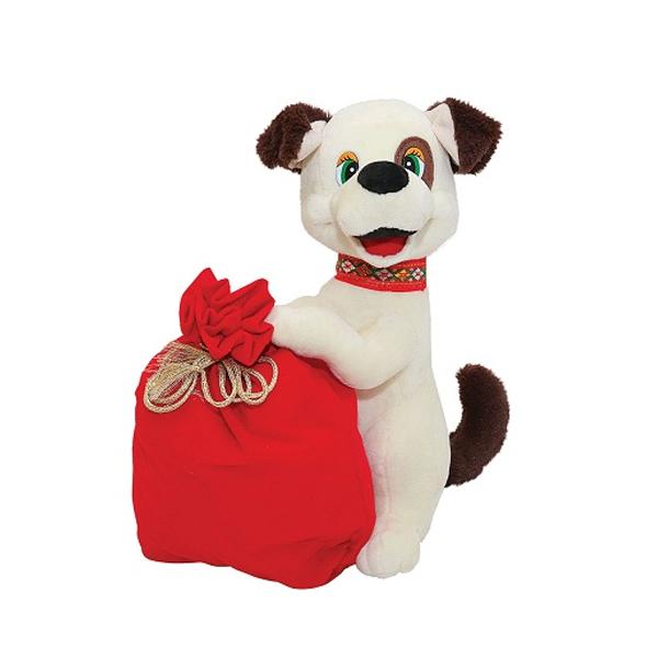Мягкая игрушка упаковка для новогоднего подарка