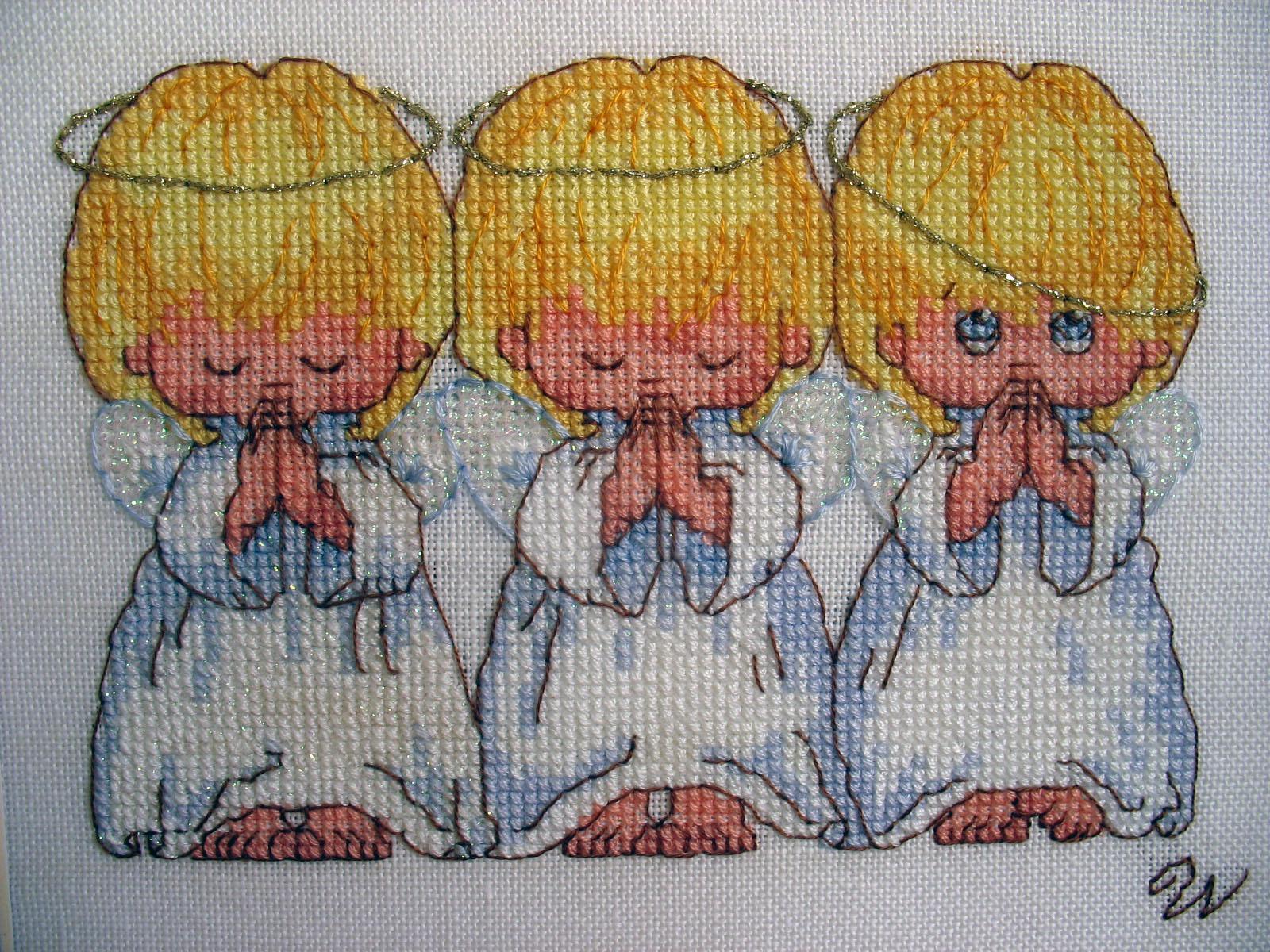Схемы ангелов для беременности